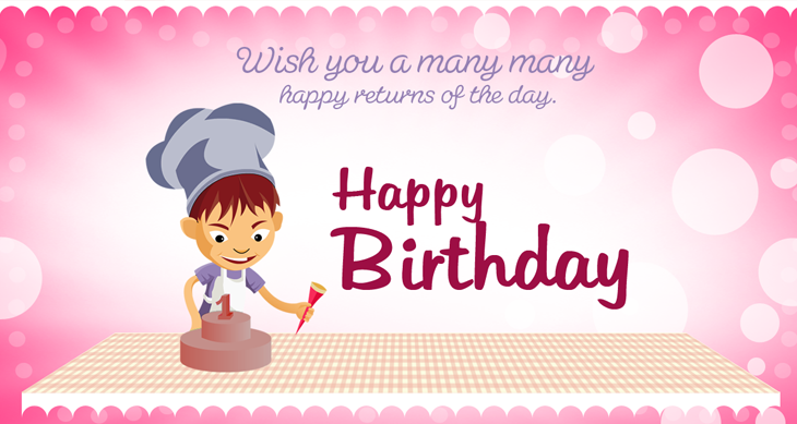 happy bday greeting cards