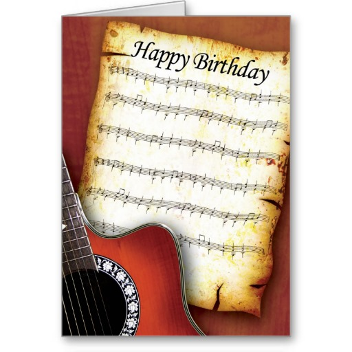 Happy Birthday Guitar Chords, Tabs, Notes.