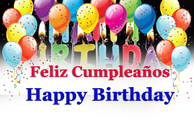 How to Say Wishes for Happy Birthday in Spanish Song