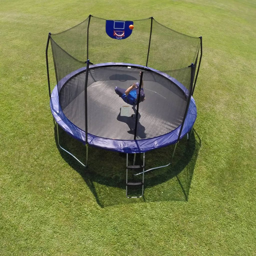 trampoline for nephew and niece