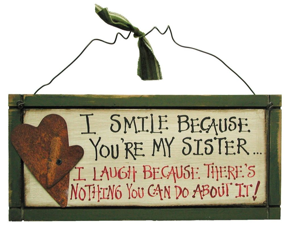 I Love My Sister Quotes 11 Birthday Gifts For Sister  Elder And Younger Sister Presents 2017